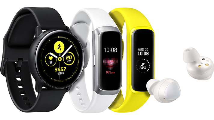 Samsung adds health-focused smartwatch, fitness tracker