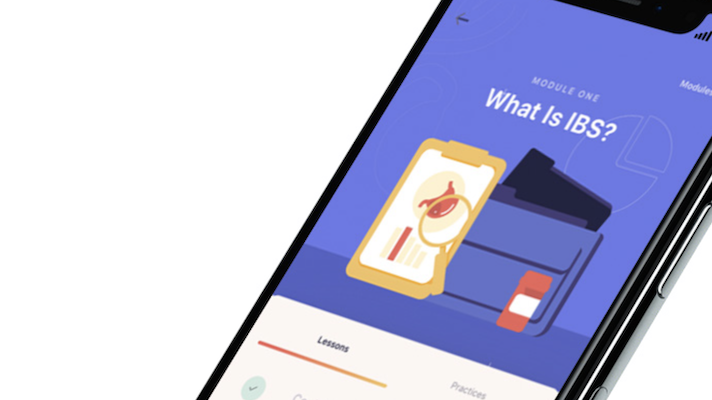 A product shot of the Bold Health app
