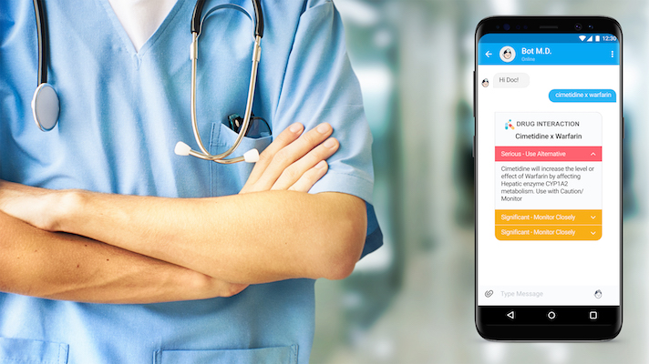 Bot M D  gets $700K for global, doctor-facing AI chatbot app