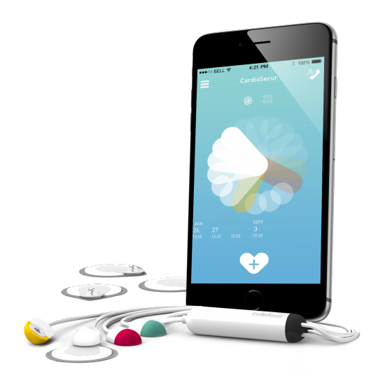German smartphone ECG maker CardioSecur raises $5 36M | MobiHealthNews