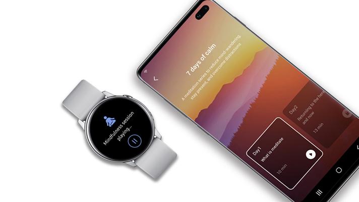 Calm's meditation app comes to Samsung Health