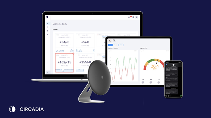 Circadia Health's contactless respiration rate monitor receives 510(k) clearance