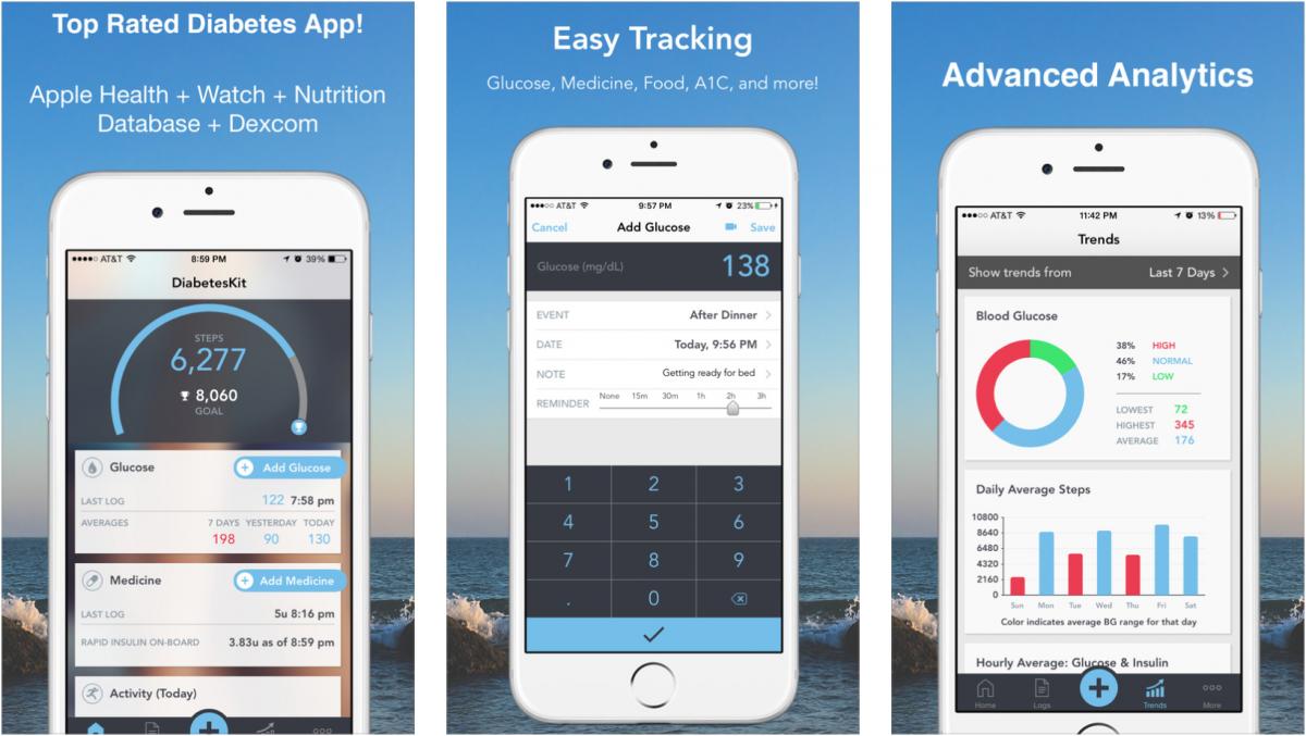 apple u0026 39 s 12 picks for diabetes management apps  2017