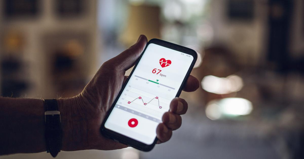 Heart health app