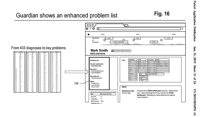 Google patent application offers new details on company's