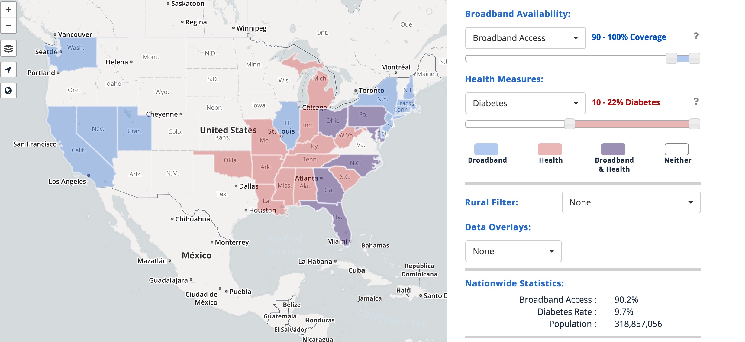 FCC launches mapping tool to explore link between health ...