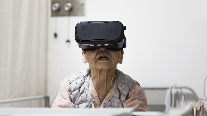 VRHealth, AARP launch VR platform for remote patient monitoring, in-home therapy