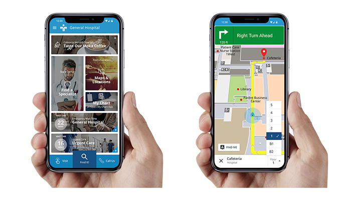 AT&T, Gozio Health partner on in-facility mobile wayfinding