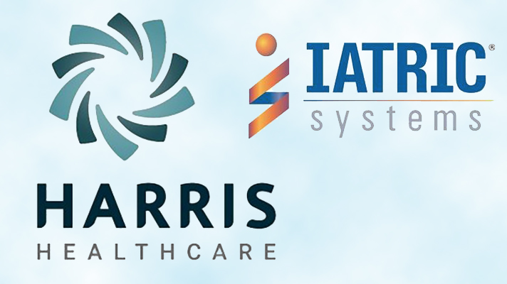 Harris Healthcare, Iatric Systems logos