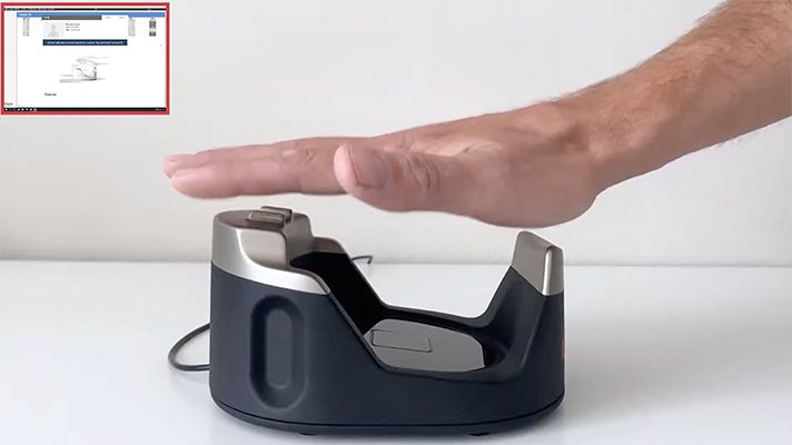 No-touch palm scanner helps ID patients while dodging COVID-19