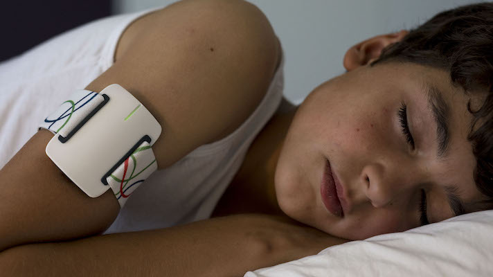 Connected armband detects 85 percent of nighttime epileptic seizures