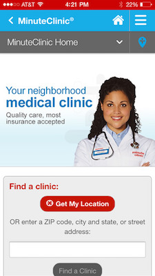 CVS MinuteClinic app to get new wait times, remote