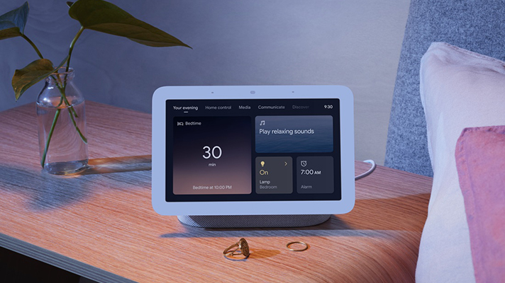 Google's next-gen Nest Hub debuts with contactless sleep monitoring and  analysis features | MobiHealthNews
