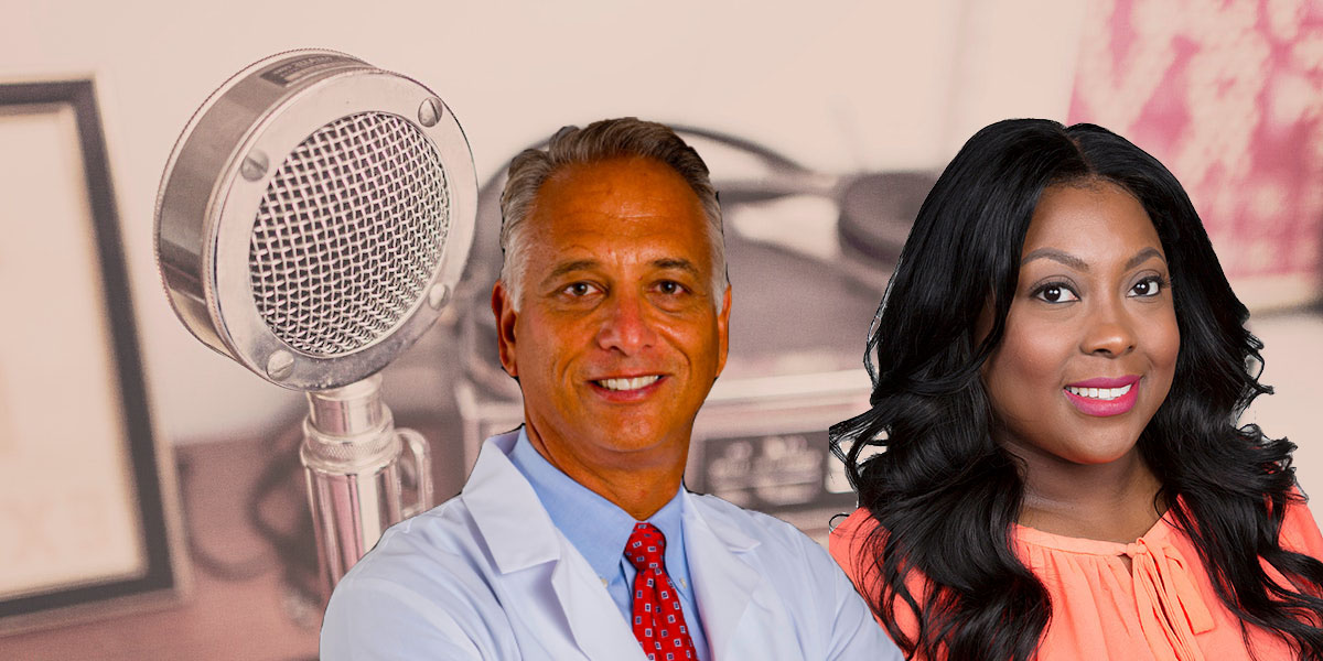 Dr. Anthony Orsini and Dr. Tanganyika Barnes