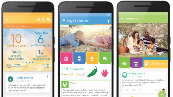 Las mejores Apps de Android para nuevos padres