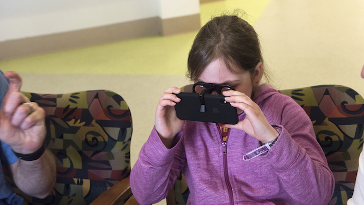 Boston Children's Hospital uses VR to show young patients their insides