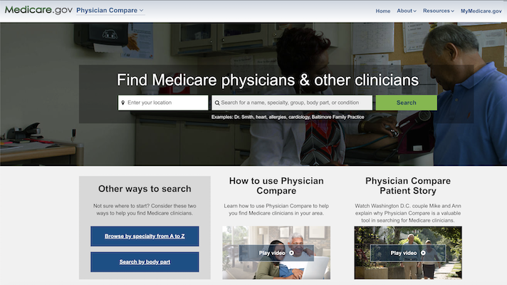 CMS's Physician Compare website falls short in statistical