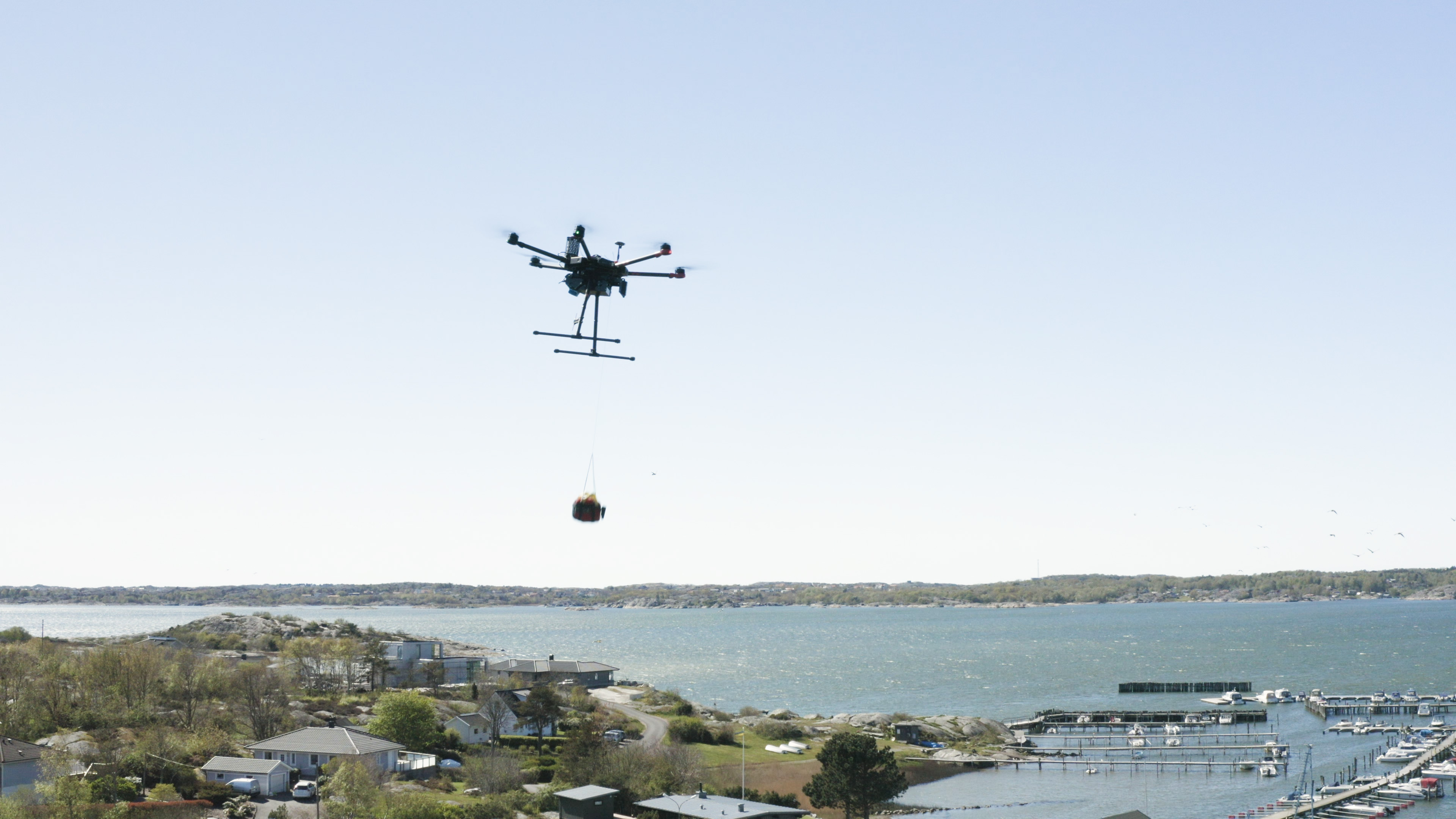 Drones Join Emergency Care Front Line In Sweden With Defibrillator