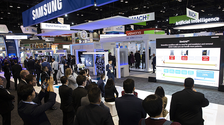 Samsung Electronics  medical device division showed off a selection of new  artificial intelligence-based imaging tools yesterday at the Radiological  Society ... 7b49653b0db