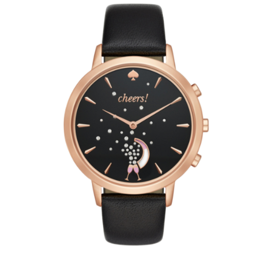 444ae88b480c72 The three-item collection –a jewelry-inspired bangle, smartwatch and  silicone tracker – are the product of Kate Spade's partnership ...