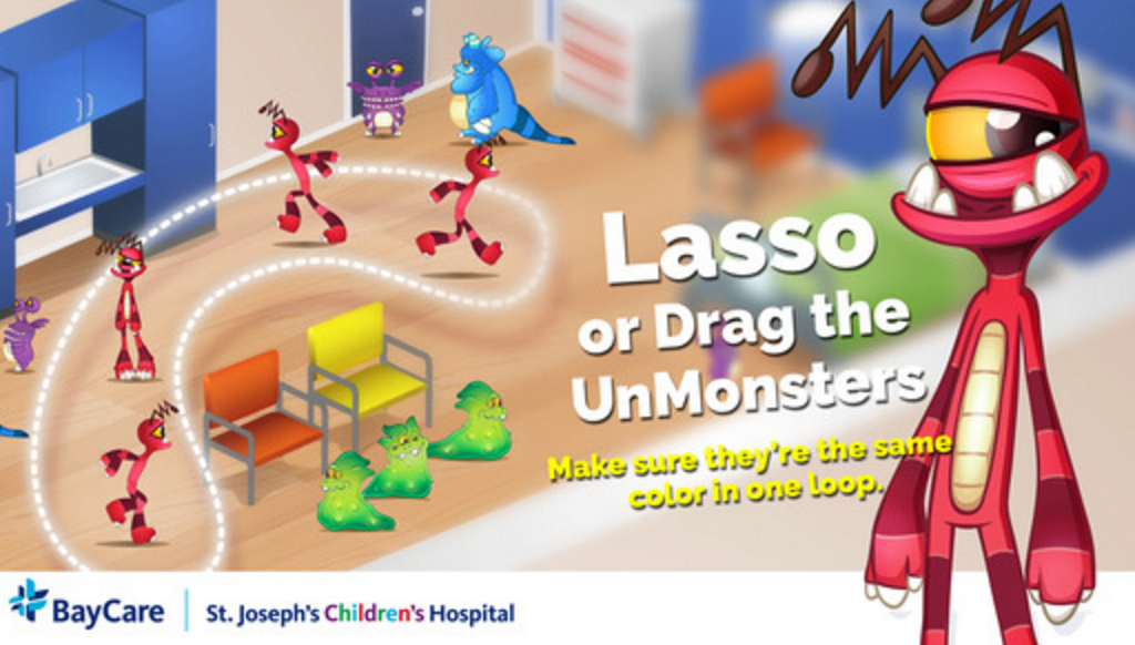 Game Character Design Apps : St. josephs childrens hospital releases new app game to ease fears