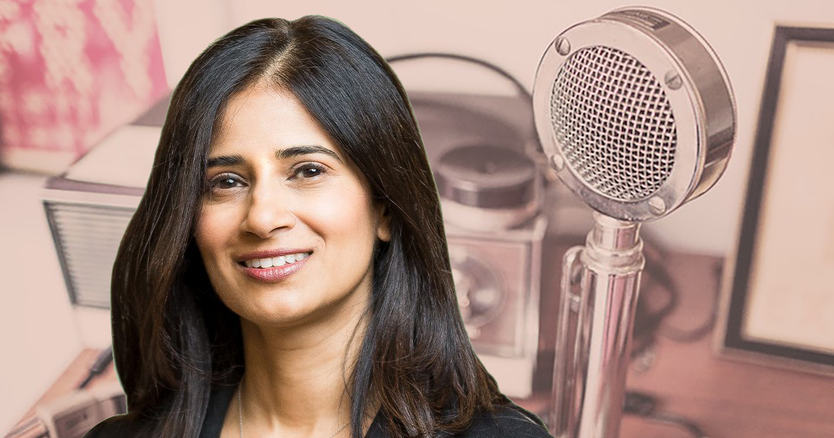 Podcast guest Varsha Rao, CEO of NurX