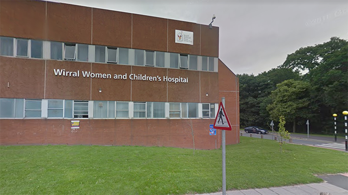 exterior view of Wirral Women's and Children's Hospital in UK