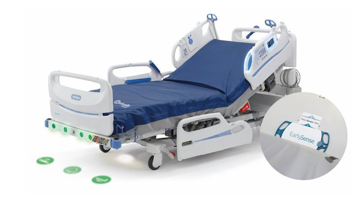 Hill-Rom's new smart bed will incorporate Early Sense's continuous  monitoring system | MobiHealthNews