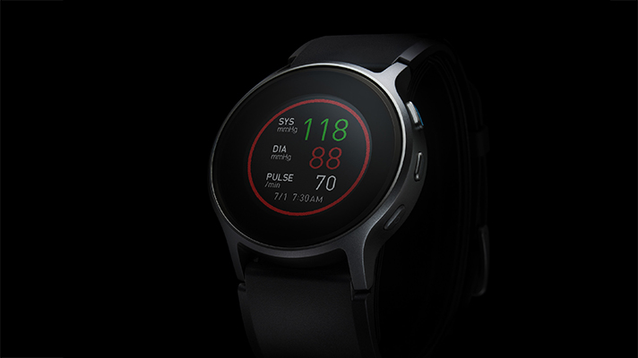 Omron's smartwatch blood pressure monitor cleared by FDA, launches in January