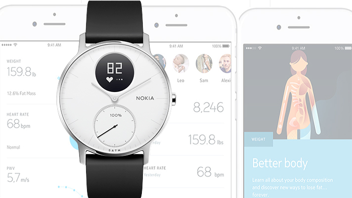 Withings Nokia wearables app