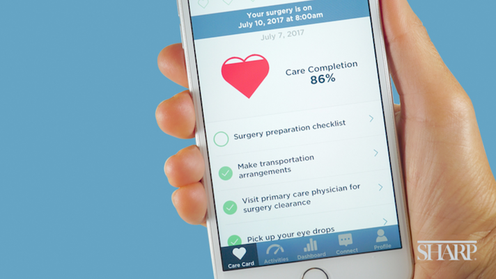 Apple Carekit Powers Sharp Healthcare S Surgery Support