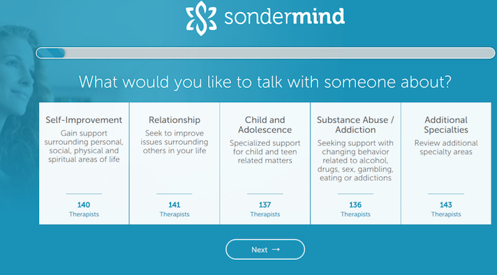 Digital network for behavioral health SonderMind raises $2 5
