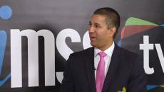Ajit Pai talks to himss tv