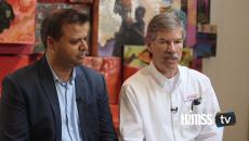 Winston Armstrong and Sandeep Chandra talk about hybrid cloud with HIMSS TV
