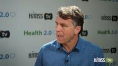 Glen Tullman talking to HIMSS TV