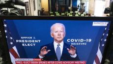 Joe Biden discussing COVID-19