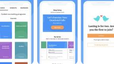 Lasting app screen examples