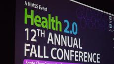 health 2.0 conference sign