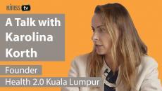 Karolina Korth, founder of the Kuala Lumpur Health 2.0 chapter.