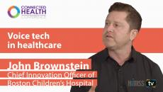 Boston Children's Hospital chief innovation officer John Brownstein