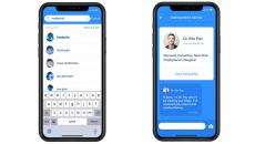 Examples of K Health app screens