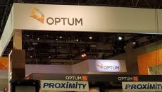 Optum HIMSS booth