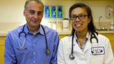 """a:2:{s:3:""""alt"""";s:42:""""Kaiser Permanente mHealth mobile diabetes """";s:5:""""title"""";s:167:""""Richard Grant, MD and Eileen Kim, MD, of Kaiser Permanente will test whether online tools can help doctors address more needs of diabetics with concurrent conditions. """";}"""