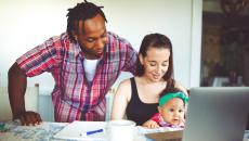 Family on telemedicine