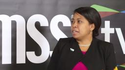 Fran Ayalasomayajula talks to himss tv