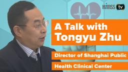 Connecting data between the public health department and hospitals in Shanghai has improved services for patients, says Tongyu Zhu, director at the Shanghai Public Health Clinical Center.
