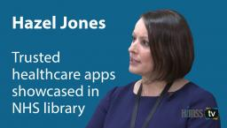 Hazel Jones, NHS Digital's Apps & Wearables program director