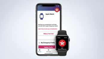 A new app allows seniors enrolled in the Lively Health & Safety offering to access in-home support services through Apple's wearable.