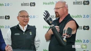 Dr. Albert Chi talks to HIMSS TV at Health 2.0