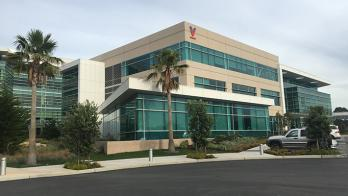 A photo of Verily's headquarters in South San Francisco.